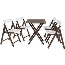 Jogo De Cadeiras E Mesa Potenza Branco 10630028 Tramontina