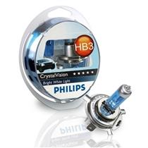 Kit Para Farol Super Branca 4300K Crystal Vision Hb3 Philips