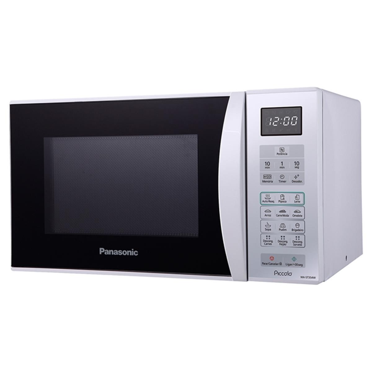 Micro - Ondas 25L 800W Branco Nn - St354w Panasonic