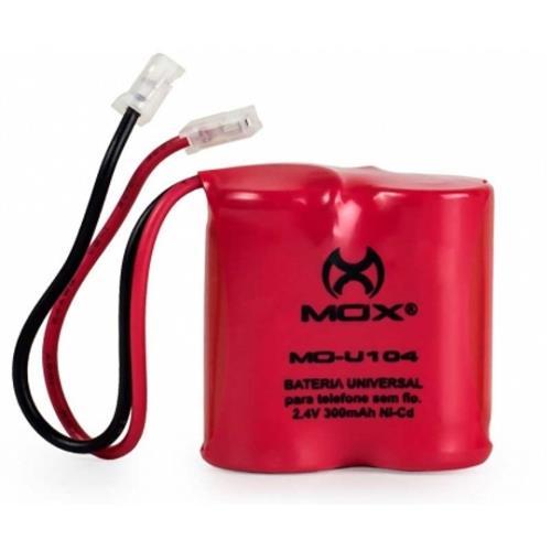 Bateria Para Telefone Sem Fio 300Mah Mo-U104 Mox