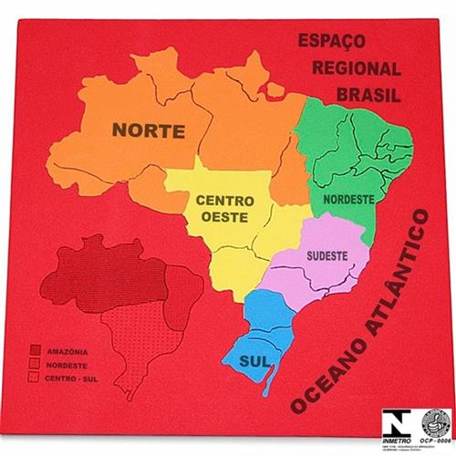 Mapa Regional Do Brasil Colorido 36 Carlu