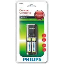 Carregador de Pilhas + 2 AA SCB1285NB78 Philips