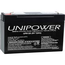 Bateria De Chumbo Ácida Selada 6V 12A Up6120 Unipower