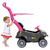Mini Veículo Infantil Smart Baby Comfort Rosa Bandeirante