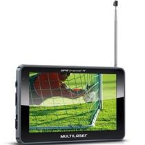"Gps Tracker 2 Tv Digital E Fm Lcd 5"" Gp036 Multilaser"