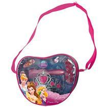 Kit Bolsa Infantil Com Acessórios Princesas Bag 3087 Yellow