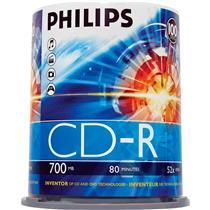 Midia Cd-R 52X 700Mb C100 Un Cr7d5sb00-97 Philips