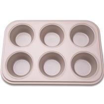 Forma Cupcakes 6 Cavidades La Pasticceria 27899031 Tramontina