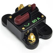 Disjuntor Automotivo Proteção Para Som 80A Loud