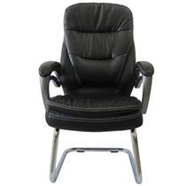 Cadeira Poltrona Interlocutor Preto Cl9 - 018V Pelegrin