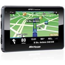 Gps Tracker Automotivo 2 Tela Lcd 4.3 Slim Touchscreen Gp011 Multilaser