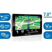 "Gps Tracker 2 Tv Digital 7"" + Rádio Fm Gp015 Multilaser"