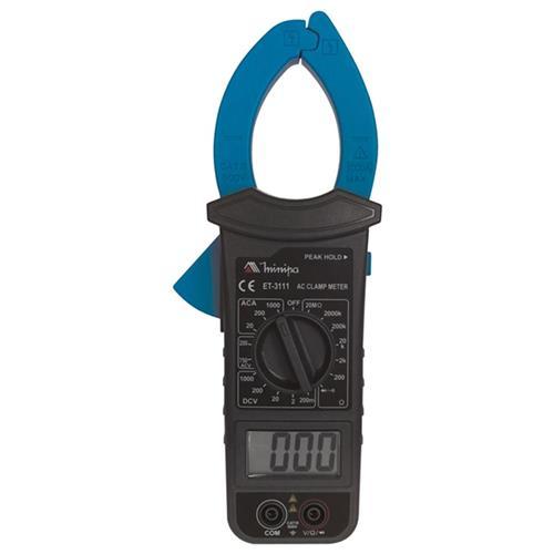 Alicate Amperimetro Preto E Azul Minipa