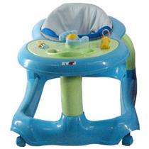 Andador Musical Para Bebê Com Brinquedos Azul 707 Love