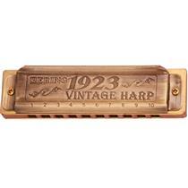 Gaita De Boca Vintage Harp Diatônica A Lá 1020 Hering
