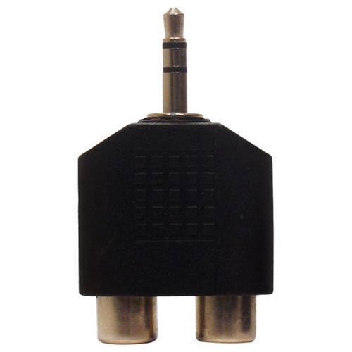 Adaptador  P2 Stereo X 2 Jack Rca 10 Unid 13097 Loud