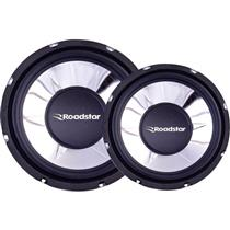 Subwoofer 250W Rms 4 Ohms Preto Rs1050br Roadstar
