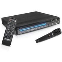 Dvd Player Com Karaokê E Microfone Hy-2250 Hyundai