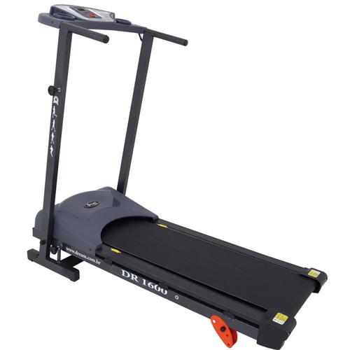 Esteira Eletrônica Fitness Fácil Manuseio E Conforto Dr 1600 Dream