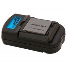 Carregador Universal Para Baterias Canon VIVSC3100C Vivitar