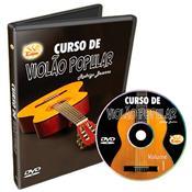 Curso Violão Popular Em Dvd Vídeo Aula Cvp Edon