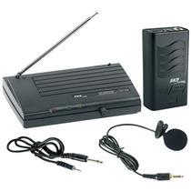Microfone de Lapela sem Fio VHF755 SKP