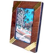 Porta-Retrato Para Fotos 6 X 8 Cm Moldura 1725 Lavie