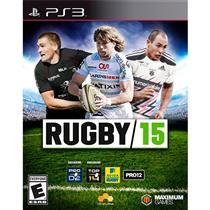 Rugby 15 Para Ps3 Esporte Em Inglês Maximum Games