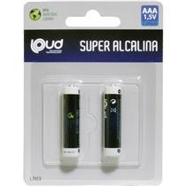 Pilha Aaa Super Alcalina 1,5V Lr03 Palito Ps-006C2 Loud