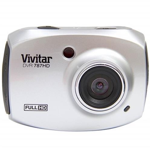 Câmera Filmadora De Ação Full Hd Prata Dvr787hd Vivitar