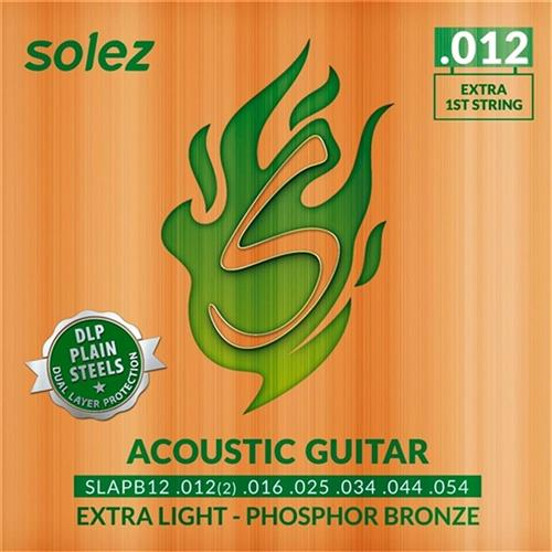 Encordoamento Violão Dlp Bronze .012 Slapb12 Solez