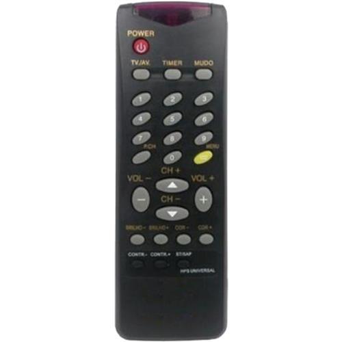 Controle Universal Hps cce Rcp-1403 Preto RCP