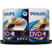 Midia Dvd-R 16X 4.7Gb 120Min Pino C50 Unidades Philips