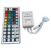 Controlador De Fita Led 12V Com Controle Remoto All Tech