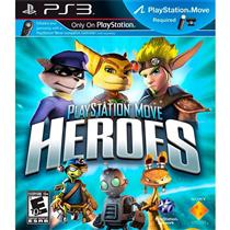 Playstation Move Heroes Game Em Inglês Para Ps3 Sony