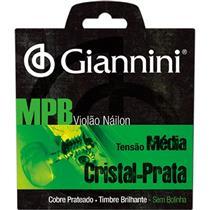Encordoamento Para Violão Genws Serie Mpb Nylon Medio Giannini