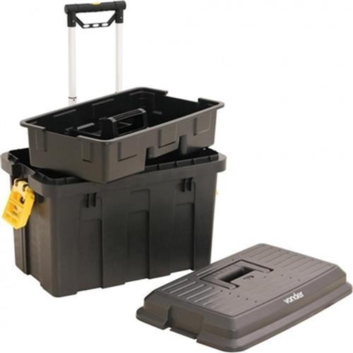 Caixa Plástica Com Rodas Para Ferramentas Crv-0200 Vonder