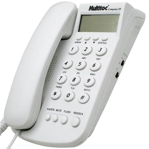 Telefone Com Identificador Id Branco Company Multitoc