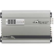 Amplificador De Potência 4X100w Rms 2 Ohms H400 Hinor