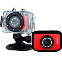 Câmera Filmadora Sport Cam Vermelha 0384 Bright