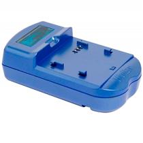 Carregador De Baterias Nikon Bivolt Azul Vivsc3100n Vivitar