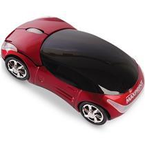 Mouse Usb Óptico Led 800 Dpis Carrinho Vermelho 607187 Maxprint