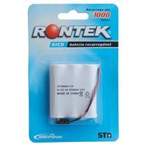 Bateria 3X Aa Para Telefone Sem Fio 3,6V 600Mah Rontek