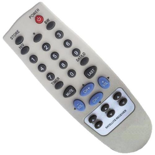 Controle Remoto Para Receptor Visiontec Crvt1000 Mxt