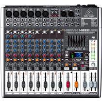 Mesa Mixer Som FX Xenyx X1222USB Behringer