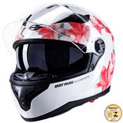 Capacete Wished White Red Fs811 Mormaii