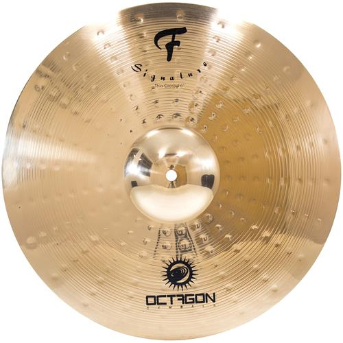 Prato De Bateria Thin Crash 16 Pol Signature FS16TC Octagon
