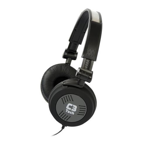 Fone de Ouvido com Microfone 32 Omhs MI-2793RB C3 Tech