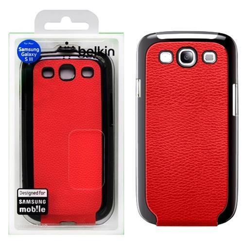 Capa Samsung Galaxy Siii Vermelho F8m397ttc02 Belkin