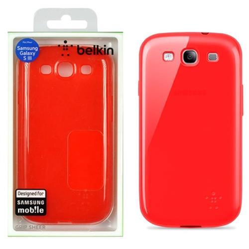 Capa Para Samsung Galaxy SIII F8M398TTC01 Vermelho Belkin